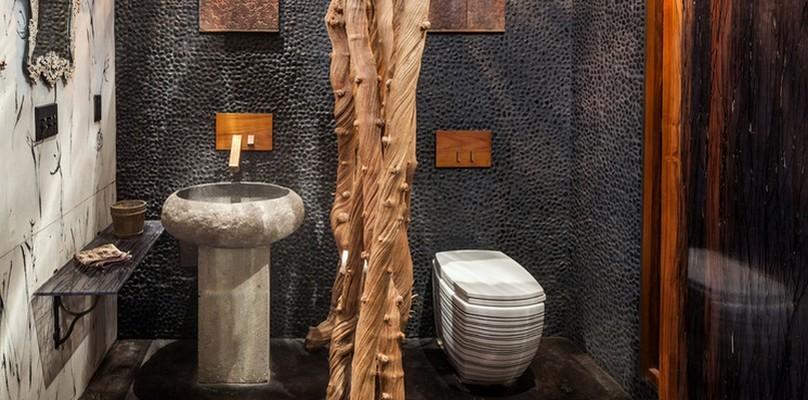 Des toilettes au design original